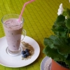 Oat, Black Grape and Fennel Tea Smoothie