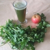 Coriander and Apple Juice