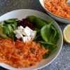 Carrot, Pumpkin and Sunflower Seed Salad