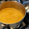 Butternut Squash Soup with Sprouted Buckwheat