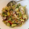 Sprouted Buckwheat Salad